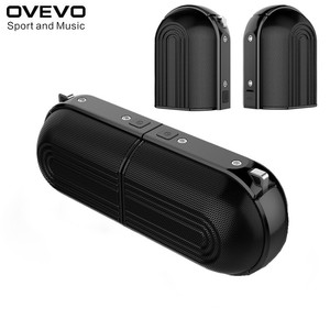 Ovevo D20 TWS BT haut-parleur Portable 2*10W haut-parleur stéréo qualité sonore deux Portable batterie externe Double Port USB pour l'extérieur