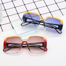 Hot SHEN NUO 9 Series luxury bran oversized sunglasses women fashion glasses feminino shades men for festival