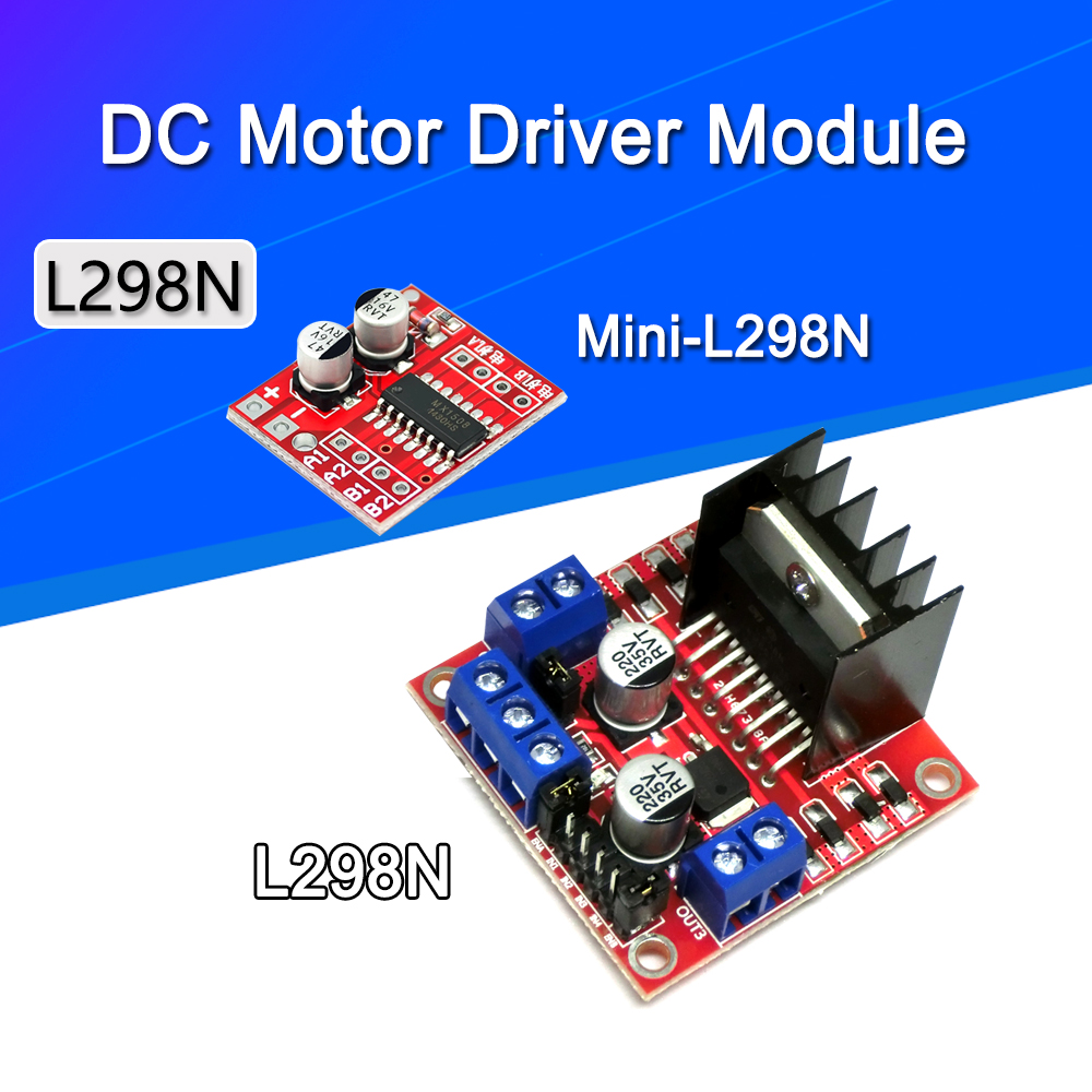 L298N Driver Board Module L298N Stepper Motor Smart Car Robot Breadboard Peltier High Power L298 DC Motor Driver For Arduino