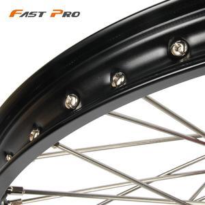 "Image 5 - 21""  19"" Motorcycle 1.6X21"" 2.15X19"" Front Rear Wheel Rim Hub For Honda CR 125R 250R CRF250R CRF 450R 250X 450X 2002 2015"
