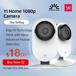 YI 1080p Hause Kamera Indoor AI Menschliches Pet Sicherheit Kamera Überwachung System mit Nachtsicht für Haustier Baby büro Monitor