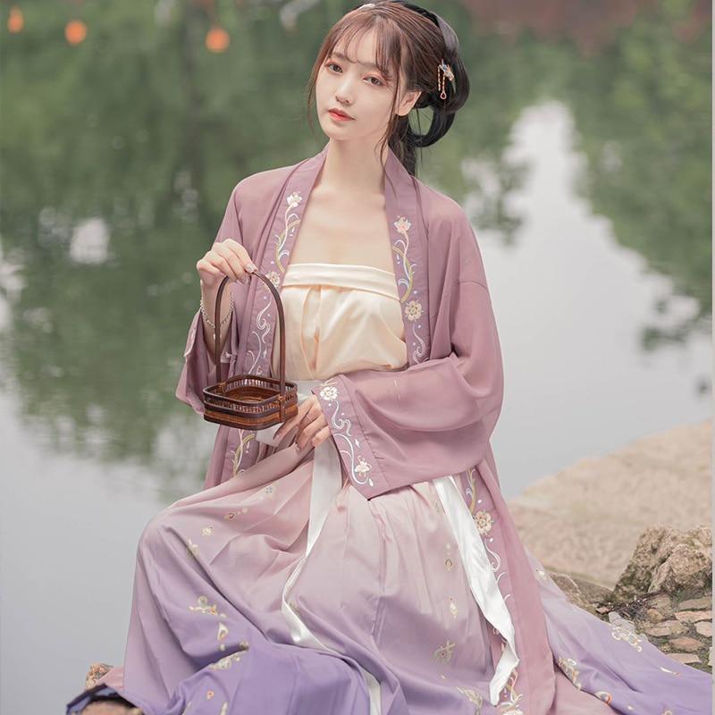 H15a477f989f44050ab1c5b67750faf7aA - ชุดจีนโบราณ เครื่องแต่งกายจีนสมัยก่อน ชุดฮั่นฝู Hanfu ชุดจีนดั้งเดิม เสื้อผ้าผู้หญิงจีนโบราณ