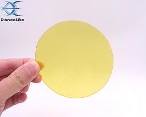 Image 3 - 100 قطعة الأصفر واضح زجاج عدسة شبه نفاذية الزجاج مخصصة لك (86.00 مللي متر x 2.00 مللي متر)