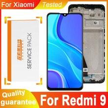 100% Getest 6.53 Display Vervanging Met Frame Voor Xiaomi Redmi 9 Lcd Touch Screen Digitizer Vergadering Voor Redmi9 Lcd display