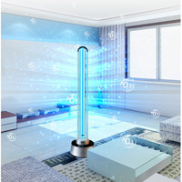 150W UV Desinfect Lamp Sterization Ultraviolet Lamps UV Germicidal Light Remote Control Timer Disinfection Air Ozone