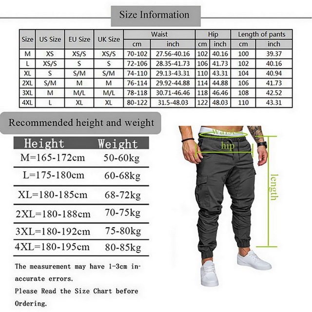 Fashion Basic Solid Elastic Waist Trousers 10