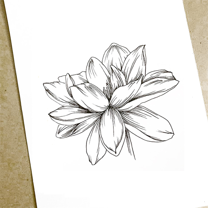 Clear Stamp for DIY Scrapbooking Card Sketch Flowers Transparent Silicone Stamps Making Album Paper Crafts Decor New 2019 Stamps
