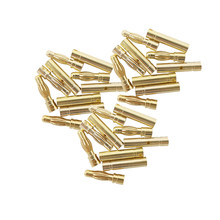 2mm 3mm 3.5mm 4mm Male Female Bullet Banana Plug Gold Plated Banana Plugs Connector Kits for RC Battery Parts Head 20/10/5/2pair