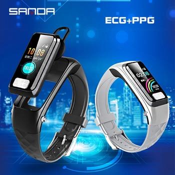SANDA New Smart Watch Men Women Heart Rate Monitor Blood Pressure Fitness Tracker Smartwatch Sports Watches for Male Lady