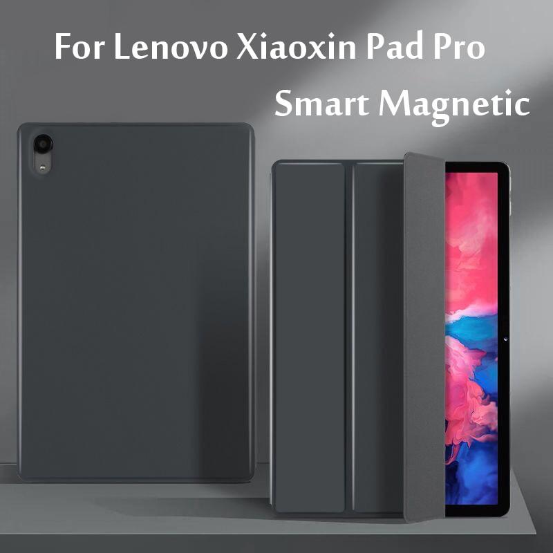 """Caso inteligente para lenovo xiaoxin almofada pro 11.5 """"ultra-fino inteligente escudo suporte capa para xiaoxin almofada pro 11 forte adsorção magnética"""