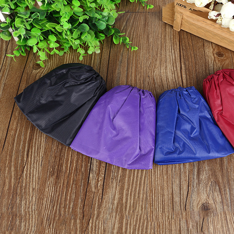 Reusable Shoes Cover Storage Unisex Rain Boots Waterproof Non-slip Boots Boots Machine Washable Cloth Shoe Bag Shoe Cover Hot