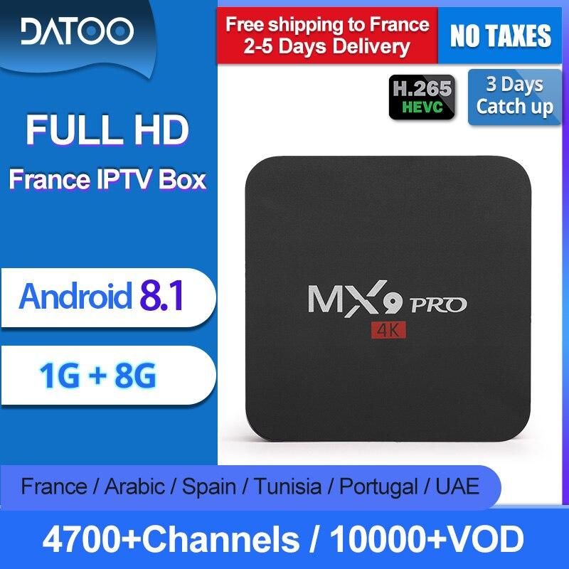 Livraison gratuite en France 2-Year Warranty Pas de soucis après vente 4700+Live and 10000+VOD