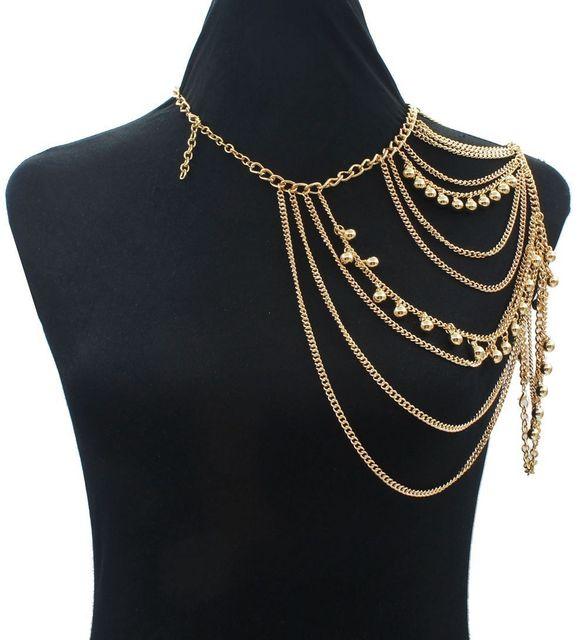 Women Gold Color Chains...