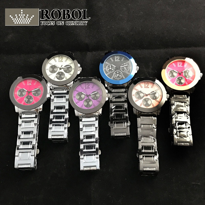RLLEN High Quality Original 1:1 Fashion Trend Men And Women Couple Luxury Quartz Watch With Original Logo Free Shipping