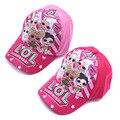 Оригинальная шапка для девочек-сюрпризов LOL, Мультяшные куклы, детская бейсболка с утиным языком, тема на день рождения, цельная фигурка, под...
