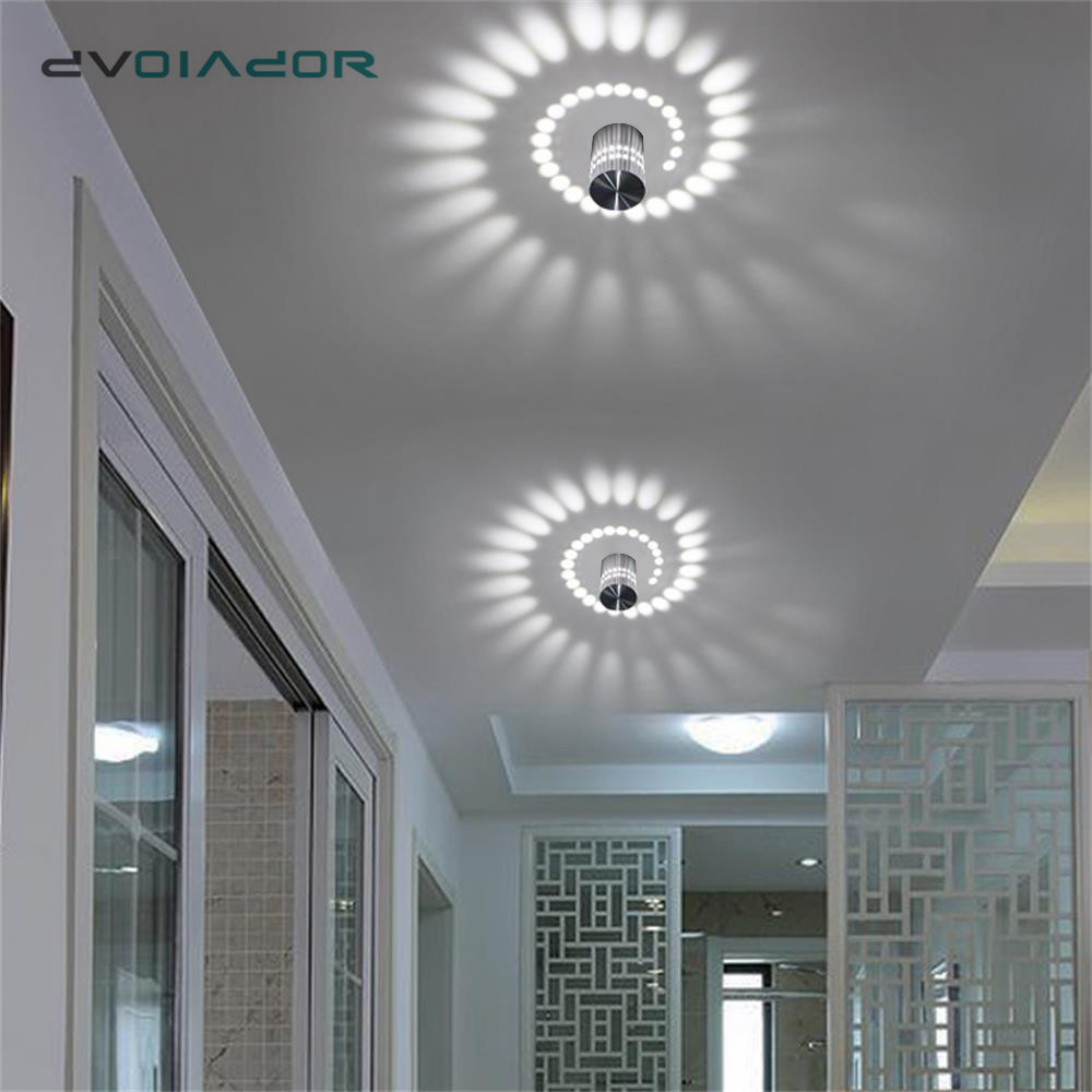 LED Downlight Ceiling Surface Mount LED Light Modern KTV Bar Party Light RGB Spot light for Corridor Living Room Light Fixture