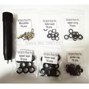 Image 1 - 10set kraftstoff injektor reparatur kits filter entfernung werkzeug 23250 28080 23250 0H030 fit für Toyota Corolla Camry 2,4 L mit freies schiff