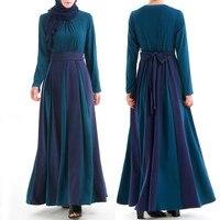 Luxury fabric Muslim Dress Abaya Dubai Kaftan dress caftan marocain hijab dress plus size muslim jalabiya dress Islamic Clothing