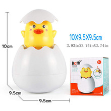 Baby Bath Toys Cloud Duck Egg Penguin Water Spray Rain Swimming Plaything Bathing Funny Beach Child Toy