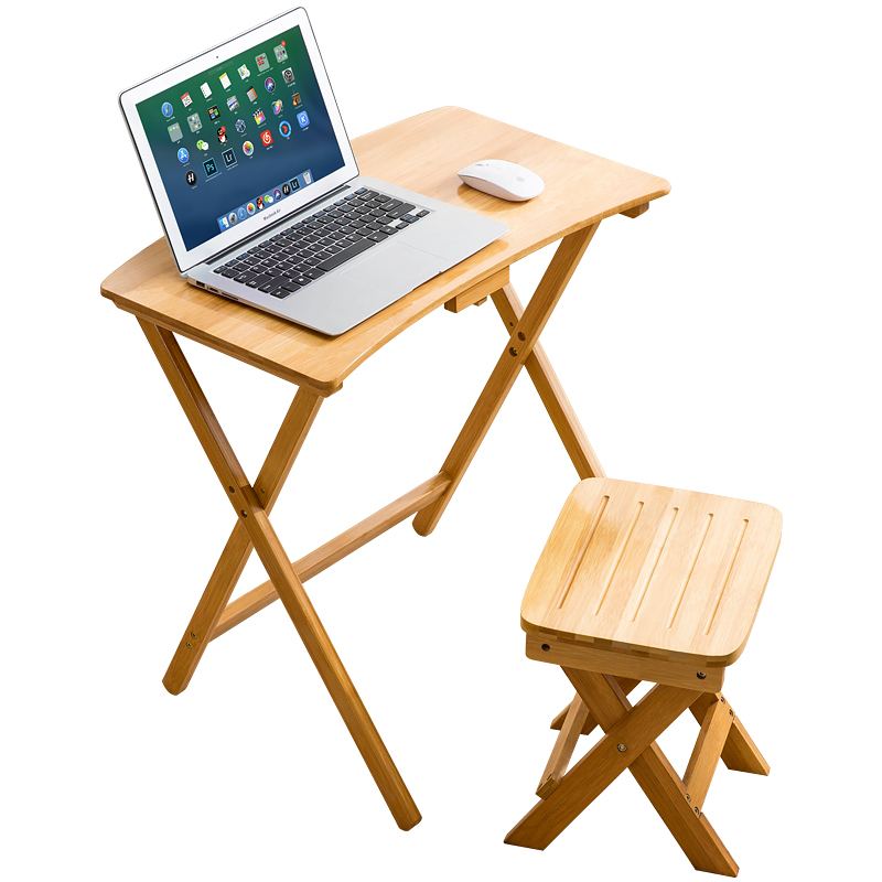 Folding bedside lifting table desktop computer table household simple lifting small table student bedroom desk