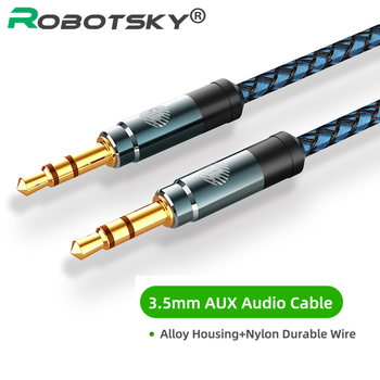 3.5mm Audio Cable Male to Male Audio Aux Cable For Car Headphone Speaker Wire Line Aux Cord Audio Jack 0.5m 1m 1.5m 2m 3 5mm extension audio cable male to female aux cable headphone cable 3 5 mm extension cable for iphone 6s mp3 mp4 player 1m 2m