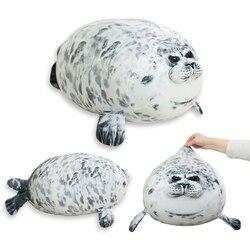 1 unidad de 30-60 cm, juguetes de peluche de león marino, muñeco de peluche suave con sello de Animal marino para niños, regalo, almohada para dormir, almohada de novedad en 3D