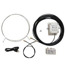 MLA 30 ring active receiving HAM Shortwave radio antenna low noise MW SW balcony erection 100kHz   30MHz30MHz  H3 003