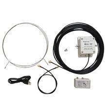 MLA 30 ring aktive erhalt HAM Kurzwellen radio antenne geräuscharm MW SW balkon erektion 100 kHz 30MHz30MHz H3 003