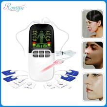 2в1 Массажер для лазерного лечения ринита, для снятия аллергии, 8 режимов, для шеи и спины, забота о здоровье, терапия, массаж, лечение синусита, лечение температуры носа