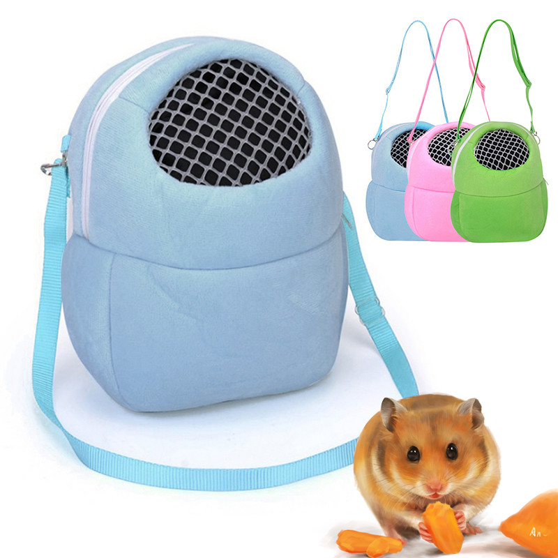 Portable Small Animals Carrier Warm Sleeping Breathable Travel Hanging Bag Pets Rat Hamster Hedgehog Chinchilla Ferret Product