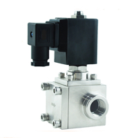 304 stainless steel high pressure car wash solenoid valve, normally closed or normally open 1/4 1 NPTG 2 way valves