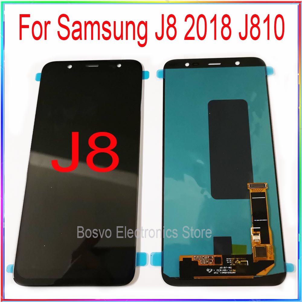 For Samsung J8 2018 J810 LCD Screen Display With Touch Digitizer Assembly