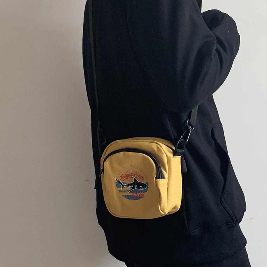 25 # Magic Cá Vải Bố Nữ Túi Xách Tay Mini Hàn Quốc Học Sinh Túi Đựng Điện Thoại Đơn Giản Đeo Túi Áo Nữ Vạt túi Đeo Vai
