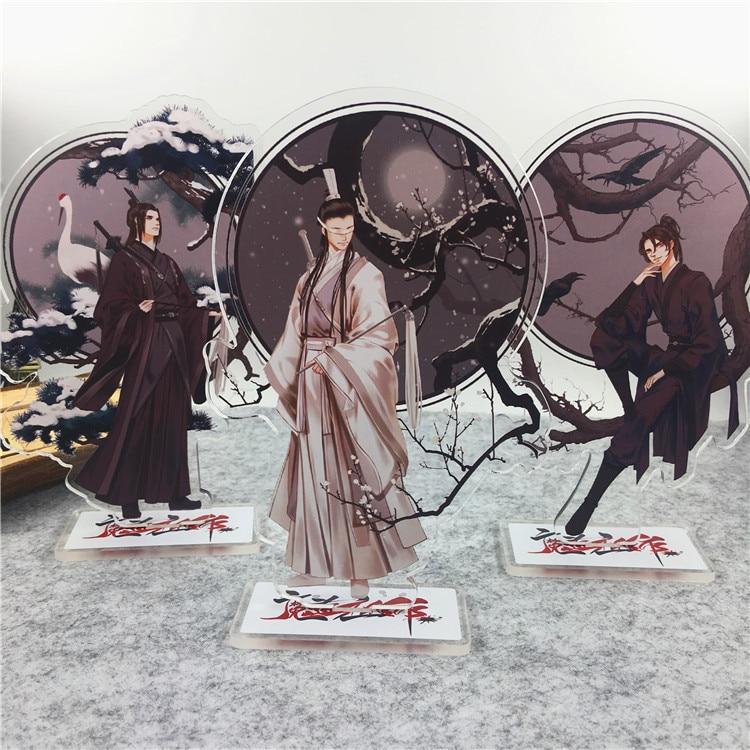 Anime Mo Dao Zu Shi Comic Acrylic Stand Figure Model Plate Holder Cake Topper Anime Comic Game