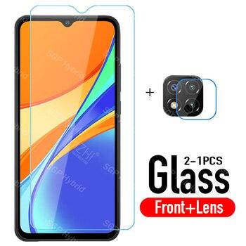 Protección de vidrio redmi 9 c de la Lente de la Cámara protector de pantalla para xiaomi redmi 9 redmi 9 c redmi9c xiomi xaomi redmy c9 9c de templado de vidrio de película