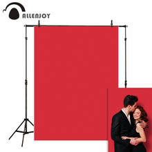 Allenjoy red photophone solid color wedding photography background backdrop photocall photo studio portrait shooting photobooth цены онлайн