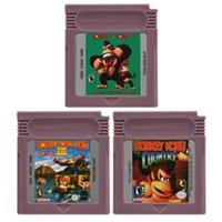 Video Game Cartridge Console Card 16 Bits Donkeyy Kong Series For Nintendo GBC English Version 1