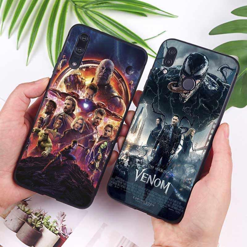 Kapten Amerika Iron Man Avengers Cover untuk Xiaomi Redmi Note 7 K20 Pro 7 Dicatat 5 6 4X 7A Clear Soft Silicone kasus Telepon