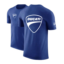 Summer Ducati Logo 2021 Men Customize T shirt Comfortable Solid Color Unisex Cotton Hip Hop Fashion Tops High street CasualTees
