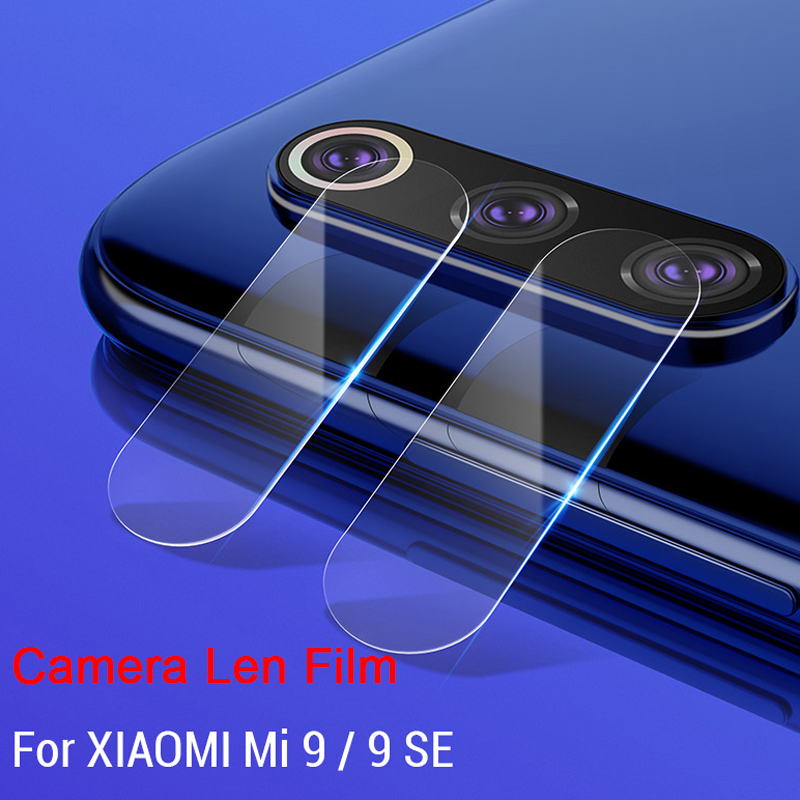 Back Screen Len Tempered Glass For Xiaomi Mi 9 SE 8 Pro Explorer Clear Protective Camera Lens Film For Xiaomi Mi A2 Lite A1 Play