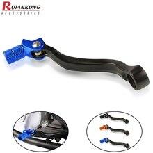 цена на Moto Rear Foot Brake Pedal Levers Dirt Bikes For Husqvarna TE125 TC125/250 TE250/300/250i/300i TX300 FC250/350 FE250/350 FX 350