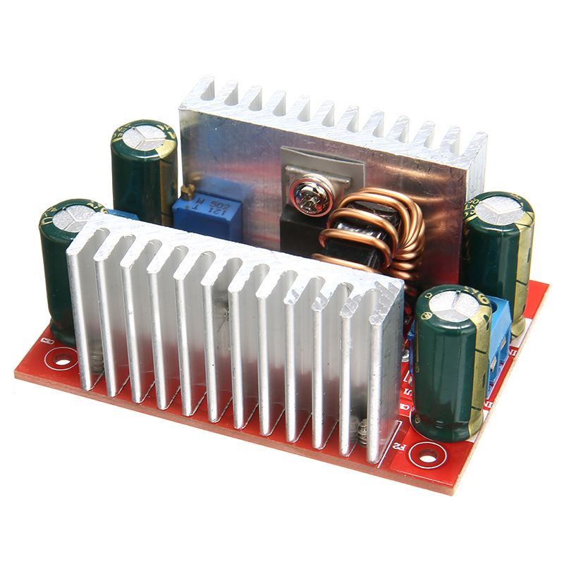 Step Up Module Constant Current Power Supply LED Driver 8.5-50V to 10-60V Voltage Charger <font><b>DC</b></font> <font><b>400W</b></font> 15A Boost Converter image