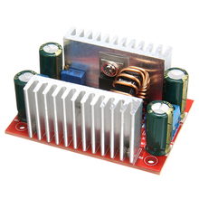 цены Step Up Module Constant Current Power Supply LED Driver 8.5-50V to 10-60V Voltage Charger DC 400W 15A Boost Converter