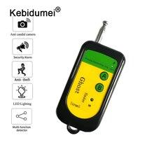 Портативный сигнал детектор маленький Размеры Беспроводной радиочастотного сигнала Камера ошибка GSM детектор 100 ~ 2400 МГц Tracer наблюдения дет...