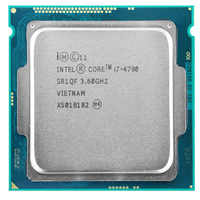 Intel core i7-4790 I7 4790 LGA 1150 Processador de 3.6GHz Quad-Core 8 I7 MB RAM DDR3-1600 DDR3-1333 HD4600