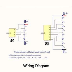 Image 5 - 1.2A Balance Lifepo4 Lio Lithium batterie Active égaliseur équilibreur carte de transfert dénergie 3S 4S 6S 7S 10S 12S 13S 14S 16S 17S BMS
