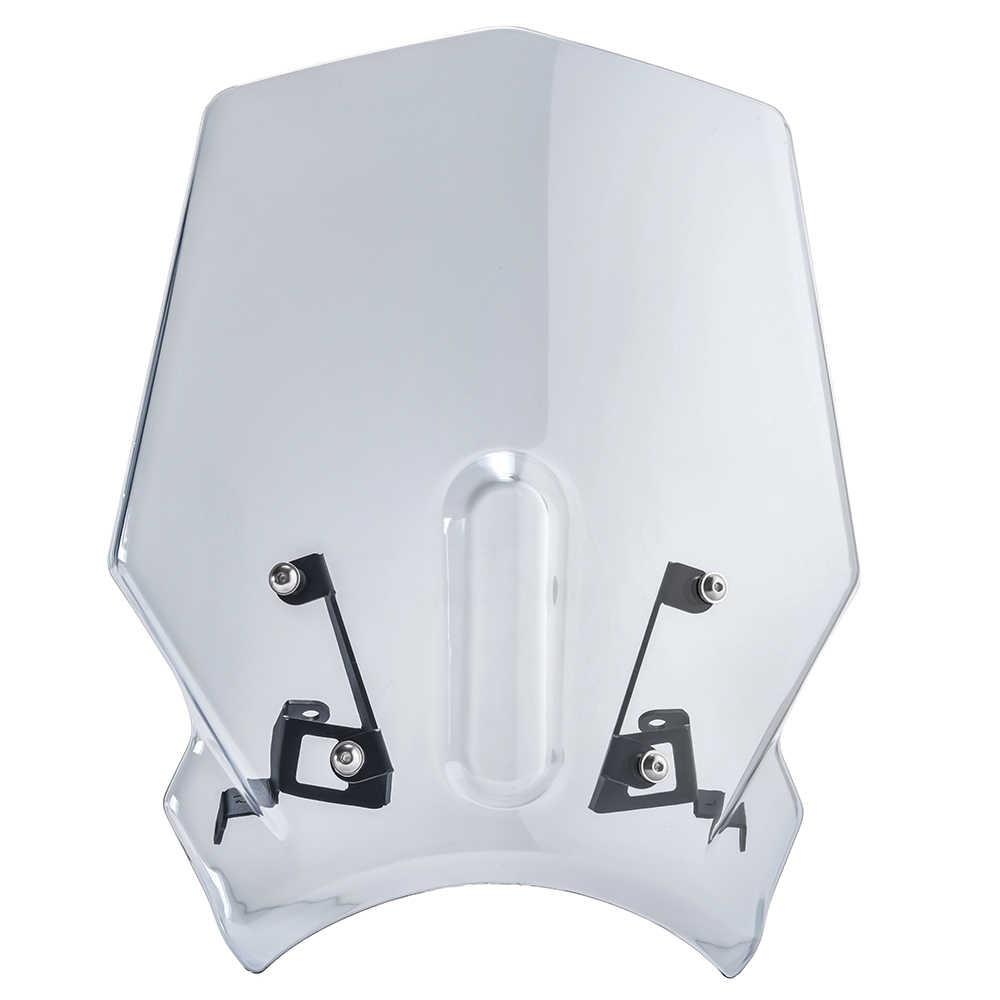 D/éflecteurs dair pour moto sport Double bulle Compatible avec CB125R CB250R CB300R 2018 2019 2020 18-20 Noir