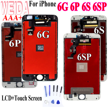 WEIDA Test For iPhone 6 6S 6P Plus LCD Display Screen Digitizer Assembly iphone for lcd