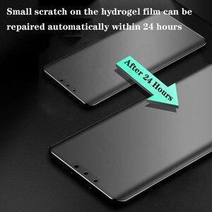 Image 3 - 3PCS אין טביעת אצבע מט הידרוג ל סרט לxiaomi Poco X3 פרו NFC F3 הגלובלי גרסה M3 X3pro NFS X 3 מסך מגן רך סרט