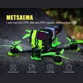 Tcmmrc Metsaema215 FPV Racing Drone Camera Folding Propeller 5 inch Free Flight Professional Aerial Photography FPV Drone Kit